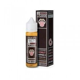Charlie's Chalk Dust - The Creator of Flavor - Old Fashioned Donut Dipped in A Double Shot Cappuccino