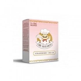 Mr. Macaron - Liquid - Strawberry Cream (3 x 10ml)