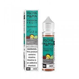 Charlie's Chalk Dust - Pacha Mama - Passion Fruit Raspberry Yuzu - Shake & Vape Liquid
