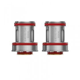 Uwell Crown 4 (IV) Dual SS904L Coils - Verdampferköpfe