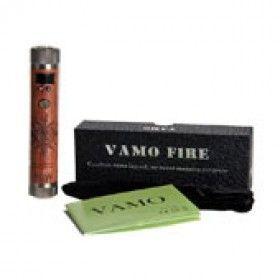 Vamo Fire aus Holz und Messing 20 Watt Akkuträger