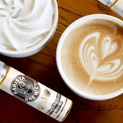 Barista Brew Co. - Shake & Vape Liquid - White Chocolate Moca