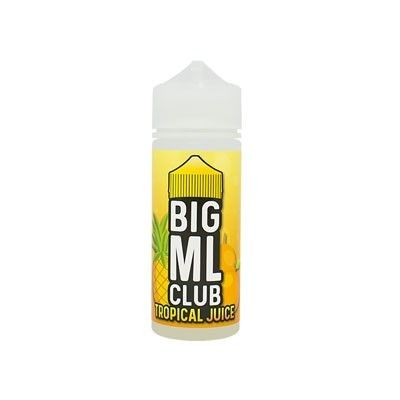 Big ML Club - Shake & Vape Liquid - Tropical Juice 100ml