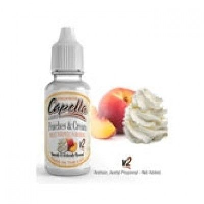 Capella Flavors Aroma - Peaches and Cream v2 (Pfirsich mit Sahne)