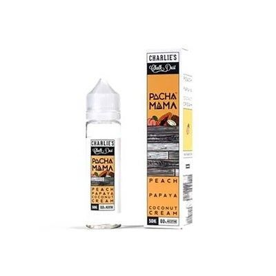 Charlie´s Chalk Dust Pacha Mama - Shake & Vape Liquid - Peach Papaya Coconut Cream