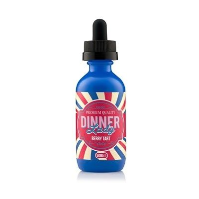 Dinner Lady - Shake & Vape Liquid - Berry Tart
