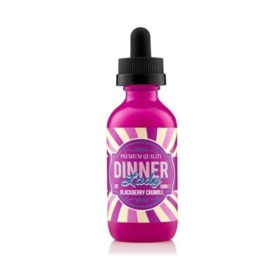 Dinner Lady - Shake & Vape Liquid - Blackberry Crumble