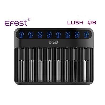 Efest - Lush Q8 - 8-Schacht Ladegerät