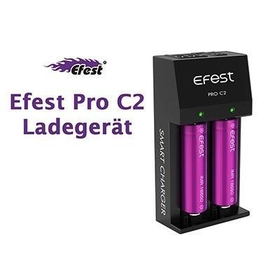 Efest - PRO C2 - 2-Schacht Ladegerät