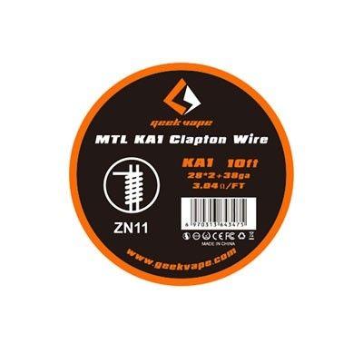 Geek Vape Wickeldraht - MTL KA1 Clapton Wire - 28ga*2 + 38ga