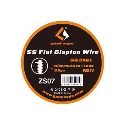 Geek Vape Wickeldraht - SS Flat Clapton Wire