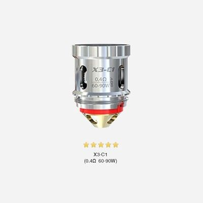 iJoy X3-C1 Coils - Verdampferköpfe-0.4 Ohm