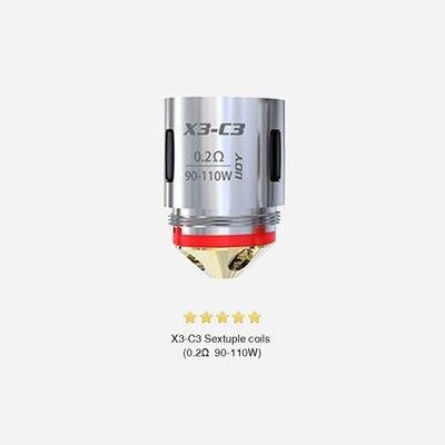 iJoy X3-C3 Coils - Verdampferköpfe-0.2 Ohm