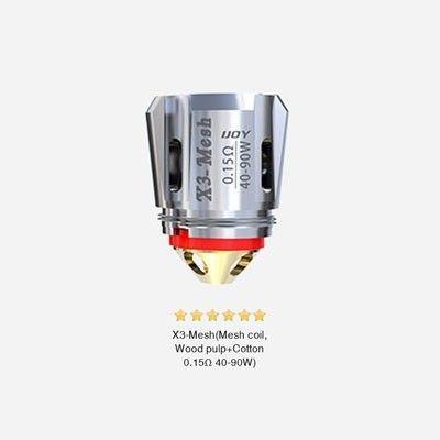 iJoy X3-Mesh Verdampferköpfe-0.15 Ohm