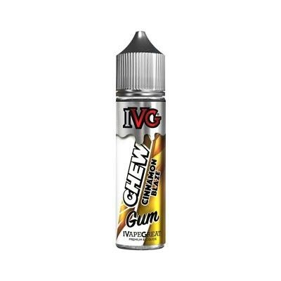 IVG Chew Gum - Shake & Vape Liquid - Cinnamon Blaze