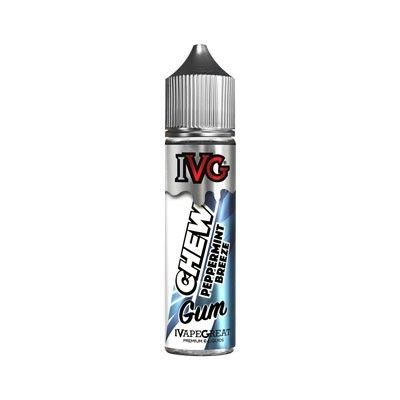 IVG Chew Gum - Shake & Vape Liquid - Peppermint Breeze