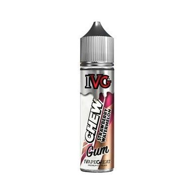 IVG Chew Gum - Shake & Vape Liquid - Strawberry Watermelon