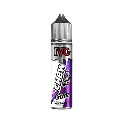 IVG Chew Gum - Shake & Vape Liquid - Tropical Berry