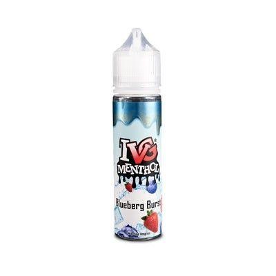 IVG Menthol - Shake & Vape Liquid - Blueberg Burst