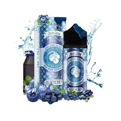 Just Jam - Limited Edition - Blueberry - Shake & Vape Liquid