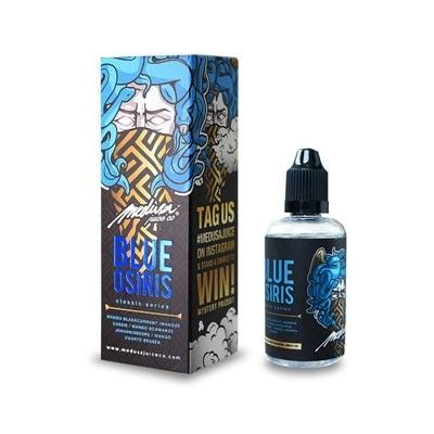 Medusa Juice Co. - Shake & Vape Liquid - Blue Osiris