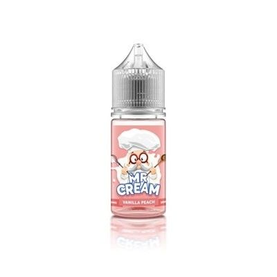 Mr. Cream - Shake & Vape Liquid - Vanilla Peach