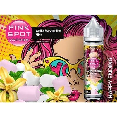 Pink Spot Vapors - Shake & Vape Liquid - Happy Ending