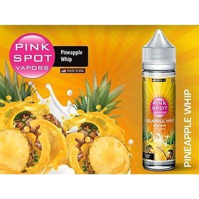 Pink Spot Vapors - Shake & Vape Liquid - Pineapple Whip
