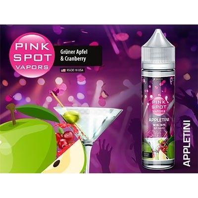 Pink Spot Vapors - Shake & Vape Liquid - Appletini