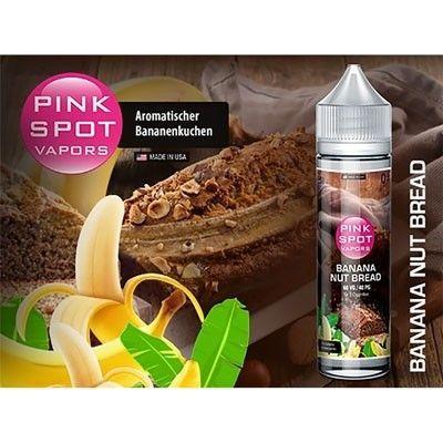 Pink Spot Vapors - Shake & Vape Liquid - Banana Nut Bread