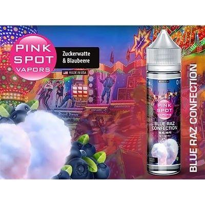 Pink Spot Vapors - Shake & Vape Liquid - Blue Raz Confection