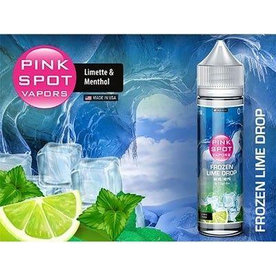 Pink Spot Vapors - Shake & Vape Liquid - Frozen Lime Drop