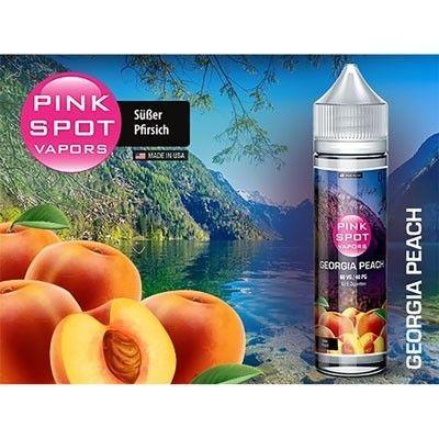 Pink Spot Vapors - Shake & Vape Liquid - Georgia Peach