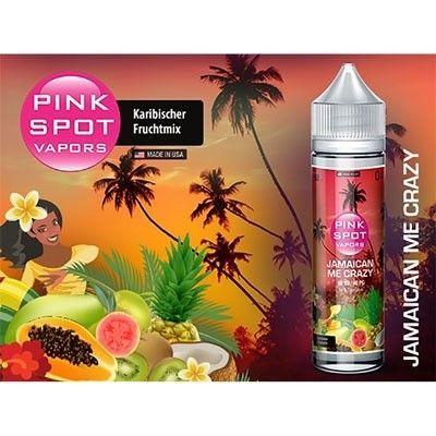 Pink Spot Vapors - Shake & Vape Liquid - Jamaican Me Crazy
