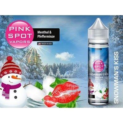 Pink Spot Vapors - Shake & Vape Liquid - Snowman´s Kiss