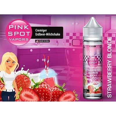 Pink Spot Vapors - Shake & Vape Liquid - Strawberry Blonde