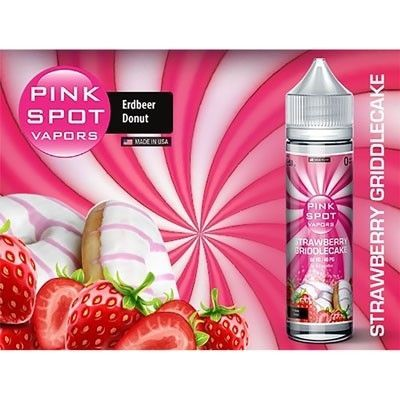 Pink Spot Vapors - Shake & Vape Liquid - Strawberry Griddlecake