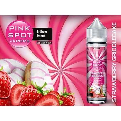 Pink Spot Vapors - Shake & Vape Liquid - Strawberry Griddlecake
