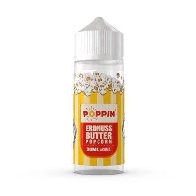 Poppin - Erdnussbutter Popcorn - Longfill Aroma