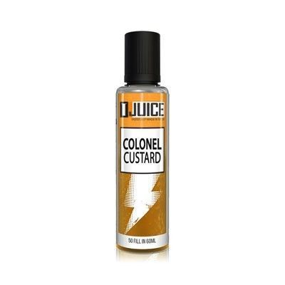 T-Juice - Colonal Custard - Shake & Vape Liquid