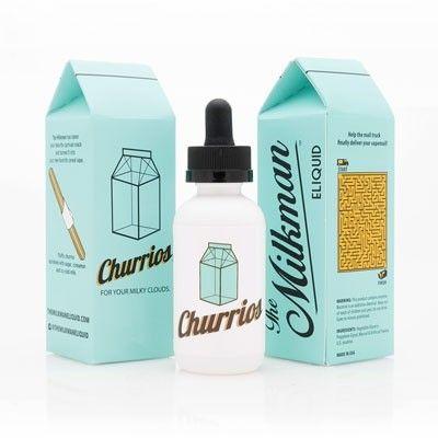 The Milkman - Shake & Vape Liquid - Churrios- 50ml