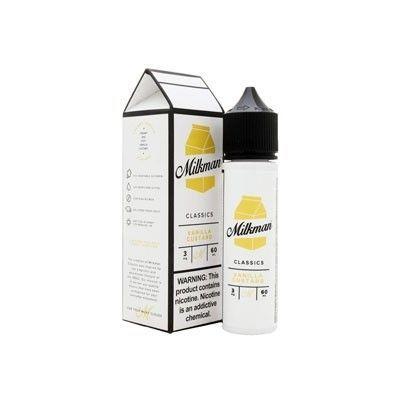 The Milkman Classics - Shake & Vape Liquid - Vanilla Custard