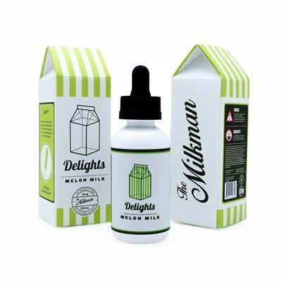 The Milkman Delights - Shake & Vape Liquid - Melon Milk - 50ml