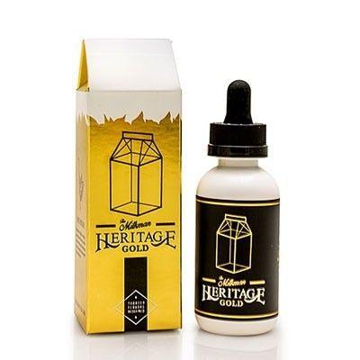 The Milkman - Shake & Vape Liquid - Heritage Gold - 50ml