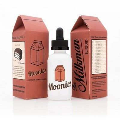 The Milkman - Shake & Vape Liquid - Moonies - 50ml