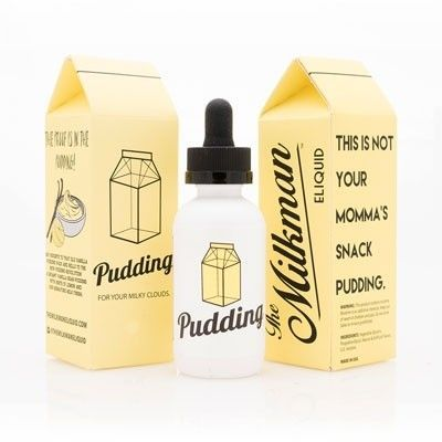 The Milkman - Shake & Vape Liquid - Pudding - 50ml