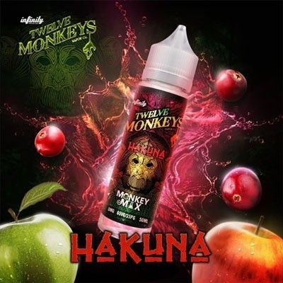 Twelve Monkeys - Shake & Vape Liquid - Hakuna