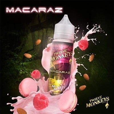Twelve Monkeys - Shake & Vape Liquid - MacaRaz