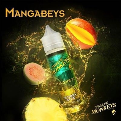 Twelve Monkeys - Shake & Vape Liquid - Mangabeys