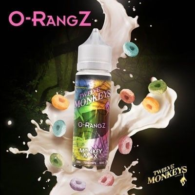 Twelve Monkeys - Shake & Vape Liquid - O-RangZ